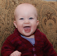 DSC_0655 (morgsarah) Tags: family grin isabel toothless 6months mywinners
