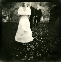 NewlyWeds (lena.kallberg) Tags: autumn fall diana lith weeding  agfaportrigarapid