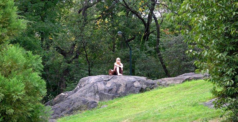 Central Park solitude