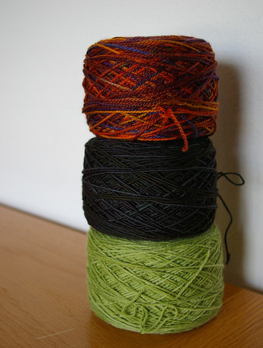 Sock Yarn Threesome
