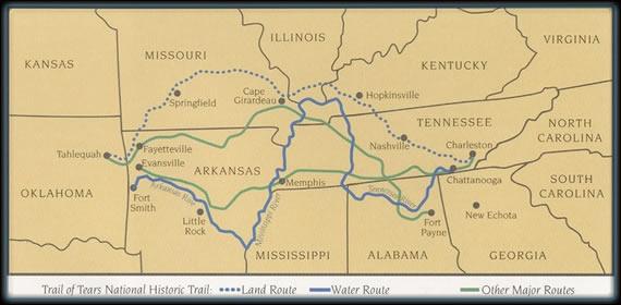 trail of tears,piste des larmes,map,carte,cherokee,deportation