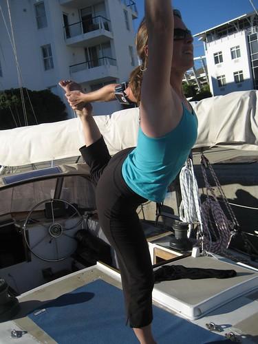 dancer on deck