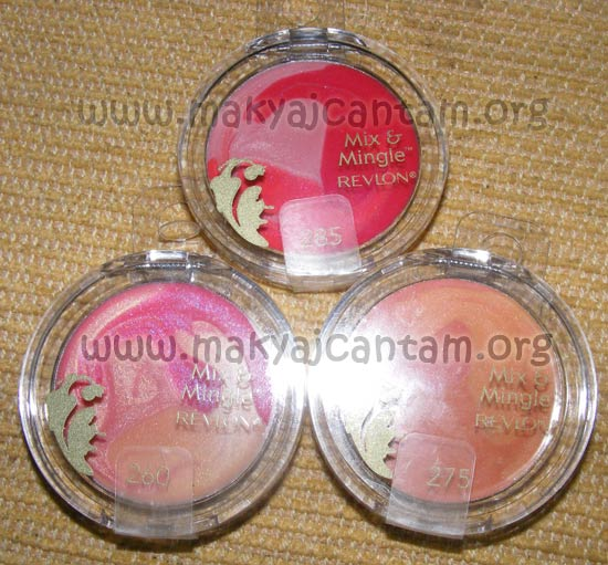 REVLON mix mingle lip gloss trio