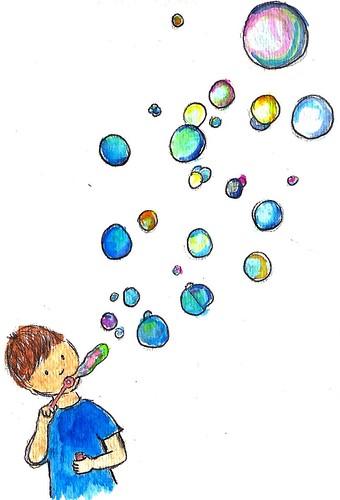 Champion Bubble Man