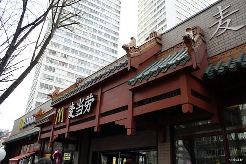 Mac Do du quartier chinois, très couleur locale