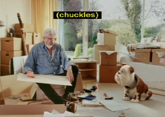 Rolf Harris and Churchill