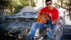 portrait sunglasses guitar retrato guitarra peña gonzalo corto shortfilm bort torrelodones gafasdesol kco lumixdmcfz50 nembis