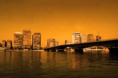 Cairo, I love you! (Marwa Morgan) Tags: africa street reflection water skyline river landscape nikon egypt nile cairo egyptian egitto egypte afrique d40 lecaire nikor1855 1855mmf3556gii gettyimagesmeandafrica1