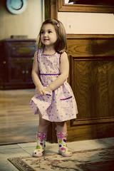 See my new dress? Teta made it!