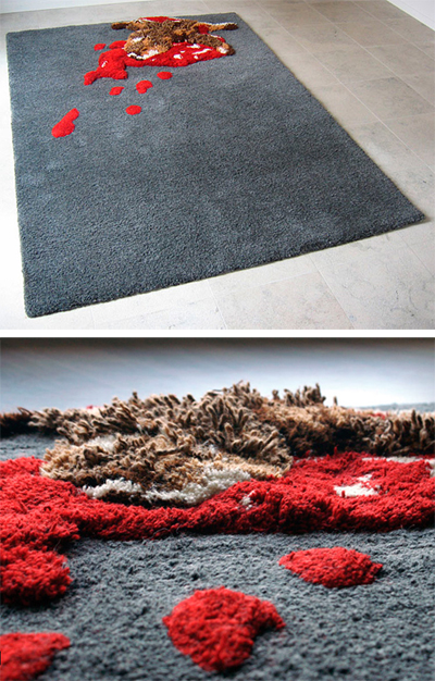 roadkill rug