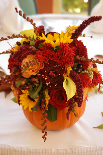 Fall Wedding Centerpieces Inspirations
