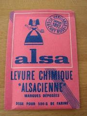 """Levure chimique """"Alsacienne"""""""