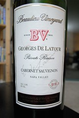1993 BV Georges de Latour Private Reserve Napa Valley Cabernet Sauvignon