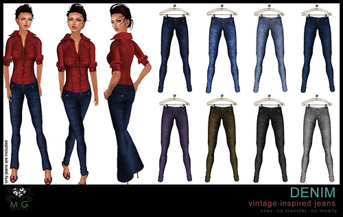 [MG fashion] Vintage Inspired Jeans