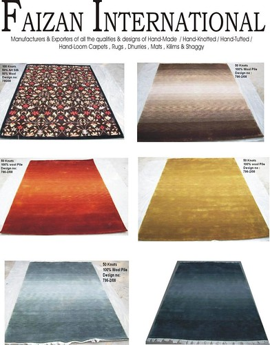 Hand-Knotted Woollen Rugs- New Collection
