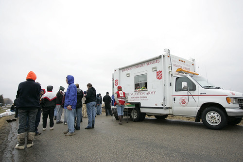 The Salvation Army has been serving in Flood damaged areas of Fargo, ND