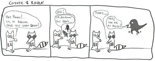 366 Cartoons - 049 - Coyote & Raven