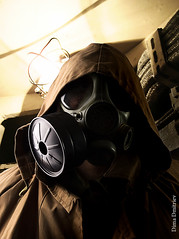Gasmask terror chemical warfare nuclear holocaust 7