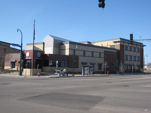 Minneapolis 3rd Precinct Police Station