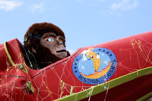 Flying monkey // Singe volant