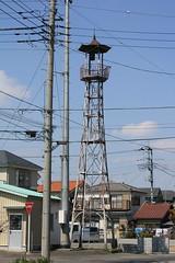 下奥富の火の見櫓(狭山市)