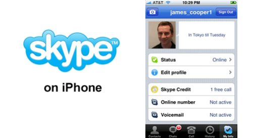 Skype for iPhone Account