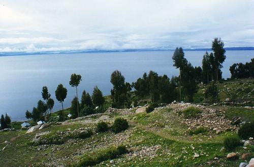 peru laketiticaca titicaca farmhouse island view vista isla amantani isladeamantani