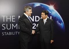 Prime Minister of Thailand Abhisit Vejjajiva