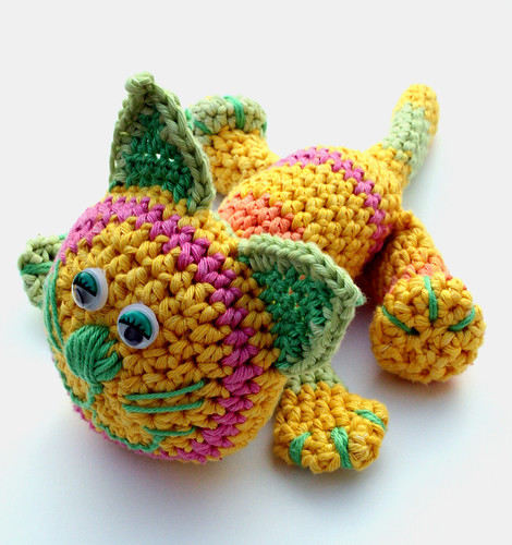 Crochet cat Maciek