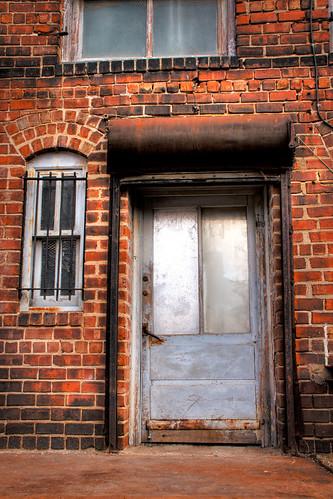 55/365  Door in an Alley