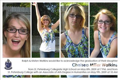 Chelsea's Grad Announcment