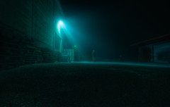U Appearing {part one} (u n c o m m o n) Tags: street city urban mist fog night canon 350d raw nocturnal sweden canon350d sverige toned hdr orton lightroom lucisart lucis uncommon longexp labmode photomatix sigma1020 canon350 tonemapped 3exp april09 hdrish dustyoldcanon350d marcusclaesson