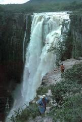 Venezuela 10Nov93 Roraima (Wanderlust676) Tags: waterfall venezuela roraima chinak