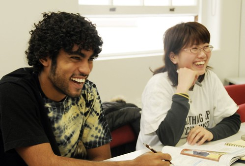 Languages International Students in Class Christchurch New Zealand