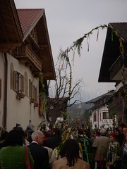Palm Sunday Procession, Thaur, Austria  5th April 2009.