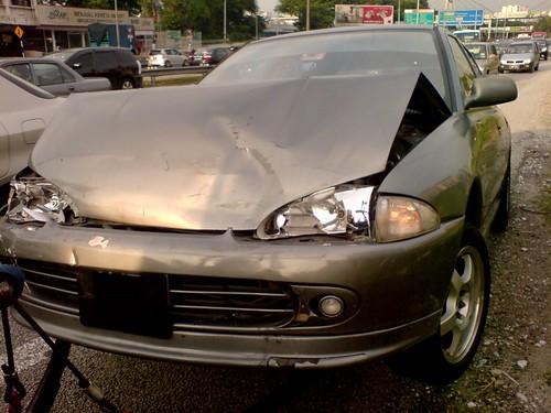Car accident - Wira