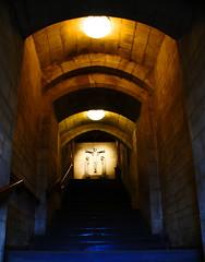 calvary tunnel (macgruff .. on / off !! V/Busy) Tags: street city church saint stairs religious scotland edinburgh cross capital religion cities churches scottish tun