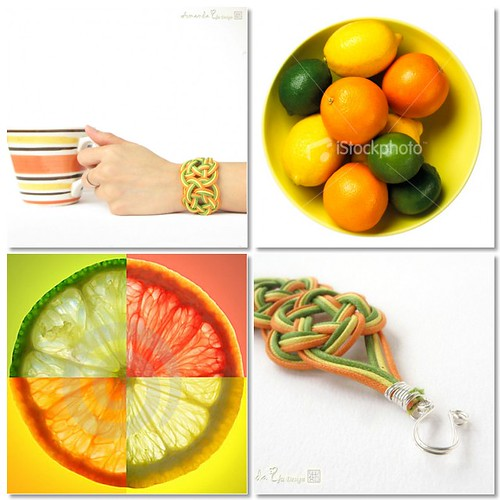 Citrus Fruits - Bracelet