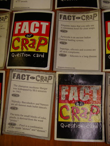"""Fact or Crap."""