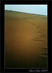 torneremo a scorrere (MartinEden83) Tags: viaggio spiaggia oceano orme solitudine tracce cammino perdita