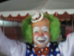 Bonus Scary Coachella Clown!