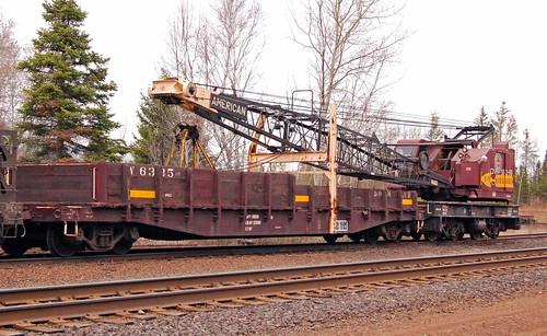 04-19-09 X-19 Crane and W-6335 Boom Car