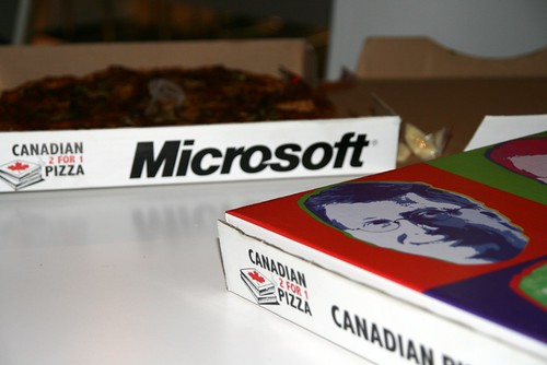 Microsoft Pizza 1.0. Superb!