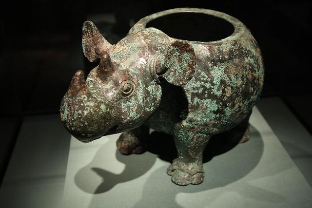 ancient chinese rhino
