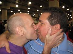 20080405 031 (Interactive Male 2009) Tags: york nyc gay men public lesbian women kiss kissing expo display union marriage kisses lips april 2008 gaymarriage equalrights center equality marriageequality new york city big expo interactive apple male glbt pdkcampaign javits wwwbiggaykisscom