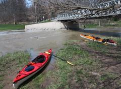 April 23 trip (Contrails) Tags: ontario canada kayak kayaking swift contrails saranac april23 niagararegion twentymilecreek 20milecreek jordanstation jordanharbour