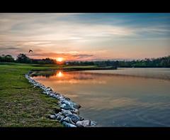 Sunrise over 18 (Sky Noir) Tags: morning club sunrise golf virginia course dominion skynoir bybilldickinsonskynoircom