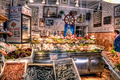 Pescadería – Fish Shop, Madrid HDR