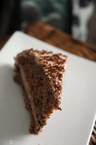 Torta panna, cacao..