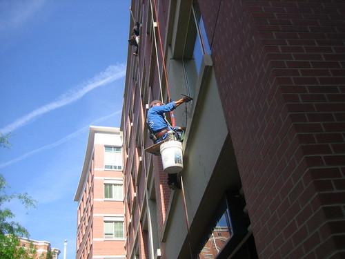 Window Washing in Carlyle